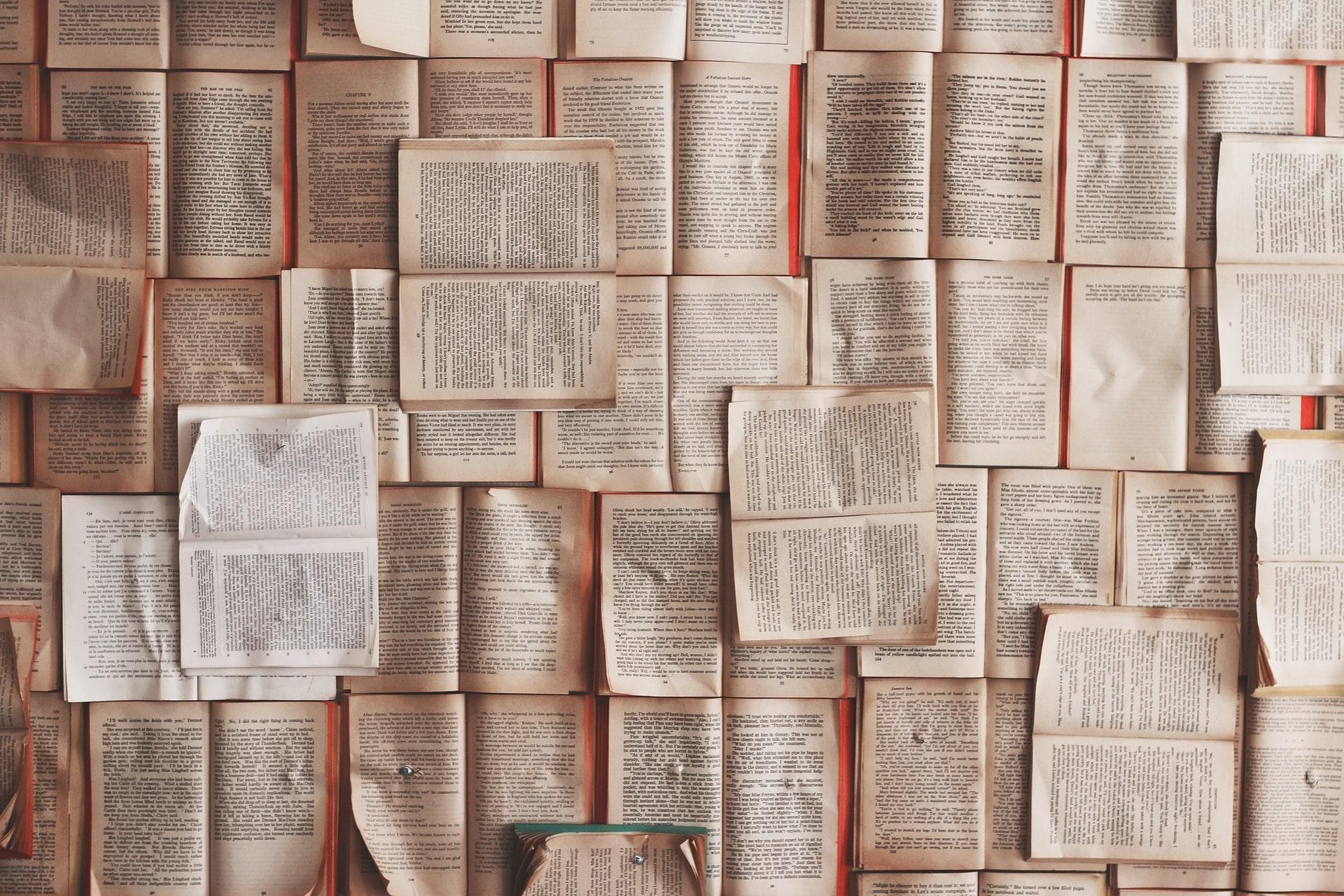 overlapping open books