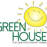 GreenHouse Logo, with smiling sun