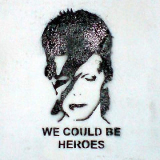 David Bowie graffiti