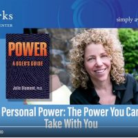 Julie Diamond, Personal Power