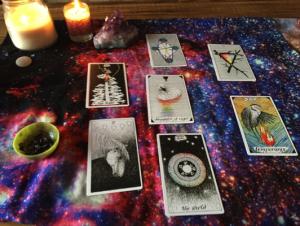 tarot, winter solstice