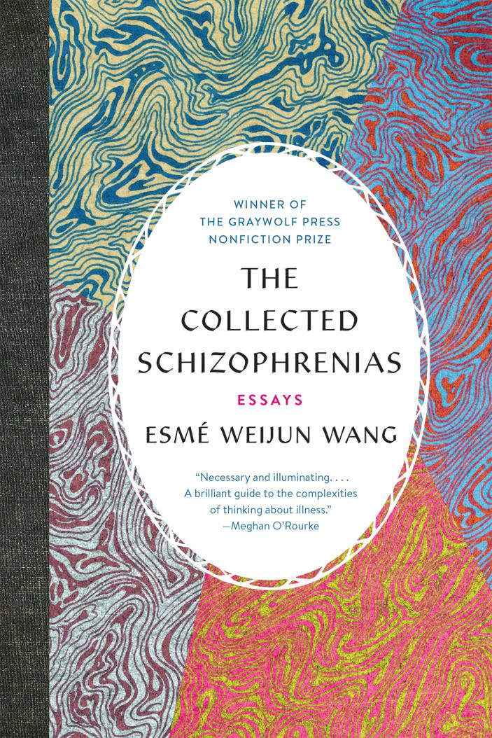 """Book cover for, """"The collected schizophrenias"""""""